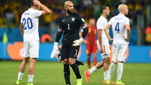 This man, Tim Howard, was incredible. Stellar goalie.