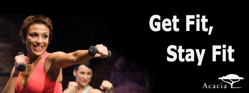 My favorite show: cardio kickboxing.